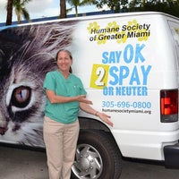 Photo taken at Humane Society of Greater Miami South by Yext Y. on 10/31/2016