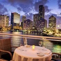 Photo taken at Azul at Mandarin Oriental, Miami by Yext Y. on 11/30/2016
