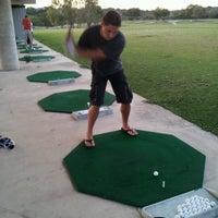 Photo taken at Alamo Golf Club by Sarah I. on 9/18/2012