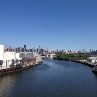 Photo taken at John Byrne-Greenpoint Avenue Bridge by Matthew🗽 on 6/7/2014