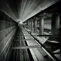 Photo taken at North Hollywood Metro Station by Joseph R. on 10/3/2012
