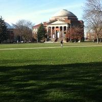 Photo taken at Syracuse University Quad by BDJ S. on 11/16/2012