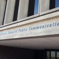 Photo taken at S.I. Newhouse School of Public Communications by BDJ S. on 11/16/2012