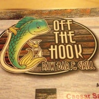 Photo taken at Off The Hook Raw Bar & Grill by Ron A. on 11/8/2013