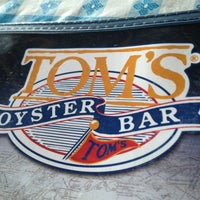 Photo taken at Tom's Oyster Bar by Ron A. on 7/28/2013