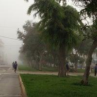 Photo taken at Parque Gonzales Prada by Rocio Y. on 2/12/2013