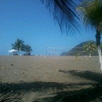 Photo taken at Jacó by Ricardo T. on 1/13/2013