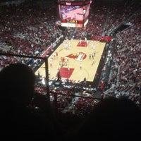 Photo taken at KFC Yum! Center by Hannah H. on 2/15/2013