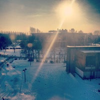 Photo taken at Université Lille 1 by Thomas A. on 1/16/2013