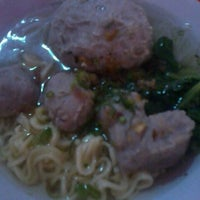 Photo taken at Bakso Cinta by Antiqmrtn A. on 6/13/2014