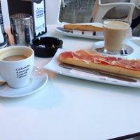 Photo taken at Cafe Bianco by Ara P. on 12/1/2014