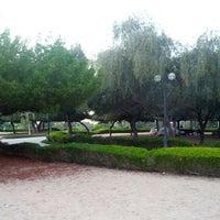Photo taken at Al Mamzar Park by Khaloid on 12/23/2012