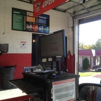 Photo taken at Valvoline Instant Oil Change by Where's J. on 10/22/2012
