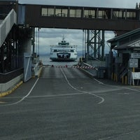 Photo taken at Bainbridge Island Ferry Terminal by Georges H. on 3/7/2013