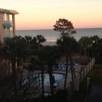 Photo taken at Beach Club Hotel Saint Simons Island by Ashley N. on 12/27/2012
