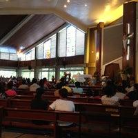 Photo taken at Redemptorist Church by Richie R. on 11/25/2012