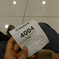 Photo taken at Maybank by afrina a. on 8/4/2016