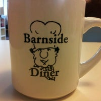 Photo taken at Barnside Diner by Clint C. on 5/21/2012