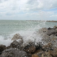 Photo taken at South Jetty / Humphris Park by Rick Z. on 3/2/2013