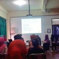 Photo taken at STIK Bina Husada Palembang by Rafika M. on 10/11/2014