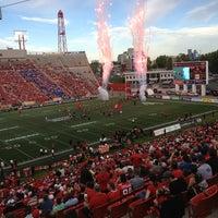 Photo taken at McMahon Stadium by Bill B. on 6/29/2013