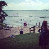 Photo taken at B.B. Clarke Beach by Chris T. on 7/13/2014