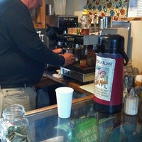Photo taken at Three Sisters Coffee by Chris T. on 2/15/2014