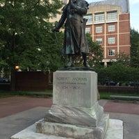 Photo taken at Robert Morris Statue by Chris T. on 7/16/2016
