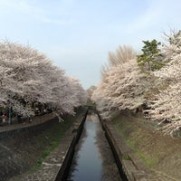 Photo taken at 尾崎橋 by Kazuya N. on 3/24/2013