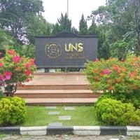 Photo taken at Universitas Sebelas Maret by Gigih F. on 1/24/2016