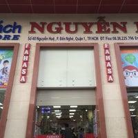 Photo taken at Fahasa Nguyễn Huệ Bookstore by cyan 2. on 5/29/2016