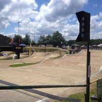 Photo taken at BMX Schijndel by Oscar G. on 5/24/2014