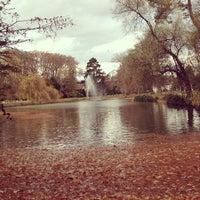 Photo taken at Parc de l'Orangerie by Jérôme T. on 11/25/2012