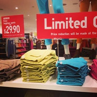 Photo taken at UNIQLO by Vicky S. on 3/17/2013