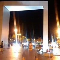 Photo taken at Praça das Águas by Raquel M. on 9/1/2014