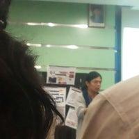 Photo taken at Gedung Dekanat Fakultas Teknik by Mia P. on 6/23/2014