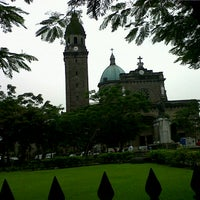 Photo taken at Cathedral-Basilica of the Immaculate Conception of Manila (Manila Cathedral) by Remy on 10/11/2012