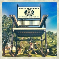 Photo taken at World's Largest Rocking Chair by brian s. on 6/26/2013