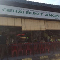 Photo taken at Gerai No 9 Bukit Angin by Muhammad R. on 7/31/2015