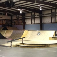 Photo taken at Springfield Skate Park by Biker C. on 1/16/2013