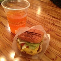 Photo taken at BURGERFI by Patricia H. on 8/4/2013