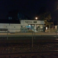 Photo taken at Eglinton GO Station by Tony D. on 8/4/2012