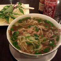 Photo taken at Pho Dong by James B. on 3/8/2013
