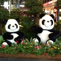 Photo taken at Changi Airport Terminal 1 by eco i. on 5/22/2013