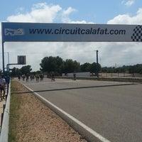 Photo taken at Circuit De Calafat by Ferran P. on 6/28/2014