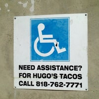 Photo taken at Hugo's Tacos by Michael Anthony on 11/11/2012