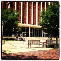 Photo taken at TTU - Texas Tech University Library by Lin H. on 8/21/2013