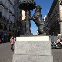 Photo taken at Estatua del Oso y el Madroño by 🌎📷 on 4/17/2013