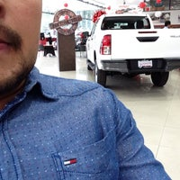 Photo taken at Toyota by Enrique M. on 10/12/2015