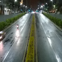 Photo taken at Tunel Av. Libertador by Lord F. on 4/9/2016